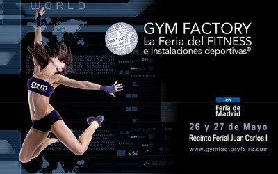 Estaremos en la Feria GYM FACTORY en Madrid
